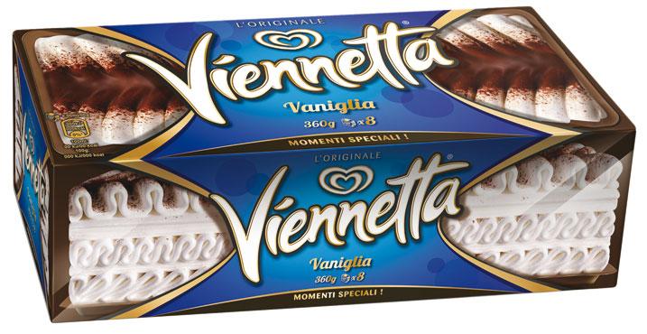 Viennetta Algida vari gusti 360/400 g