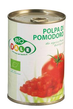 POLPA POMODORO BIO GR.400  VALE