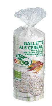 Gallette 5 cereali tubo Vale 120 g