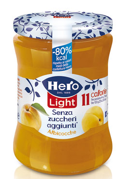 Confetture Hero light vari gusti 280 g