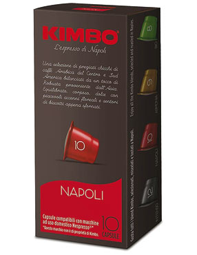 Capsule Kimbo compatibili Nespresso vari tipi x10 55 g