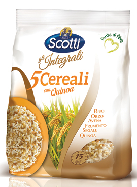 5 Cereali integrale con Quinoa Scotti 500 g