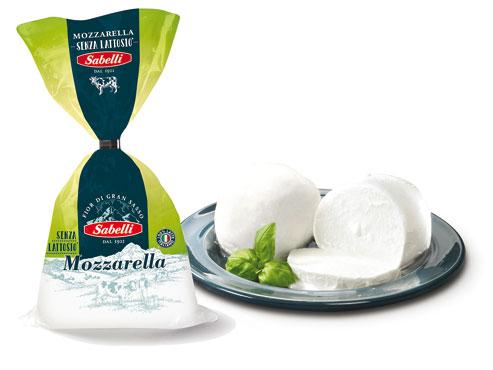 Mozzarella senza lattosio GranSasso Sabelli 200 g