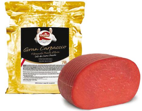 Gran carpaccio di bresaola Raspini al kg