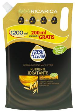 Sapone liquido Fresh&clean varie profumazioni 1,2 l