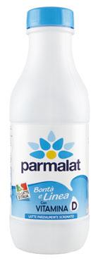 Latte Parzialmente Scremato uht italiano 100% Parmalat 1 l