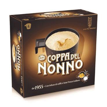 Coppa del nonno classica/cappuccino/chicchi caffe' senza glutine Motta 288/229 g