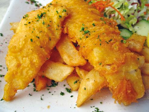 Filetto di merluzzo fritti al kg