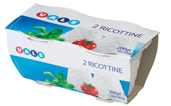 RICOTTINE GR.100X2  VALE