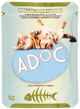 Adoc bustina gatto vari gusti 70 g