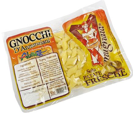 Gnocchi D'annunziani Pasta Mugnaia di Elice 500 g
