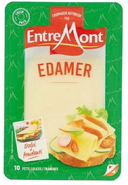 Formaggio a fette Entremont Emmenthal/Edam 100 g