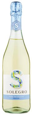 Solegro vino frizzante amabile /secco Caviro 75 cl