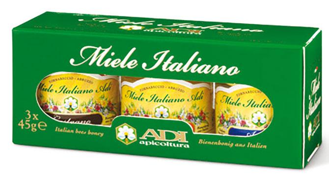Miele Acacia/Agrumi/Castagno 3X45 g