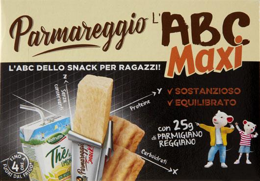L'ABC della merenda maxi Parmareggio 250 g