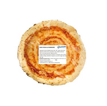 Base pizza napoletana al pomodoro 225 g