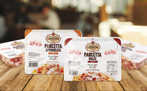 Cubetti di pancetta dolce/affumicata Costantini 160 g