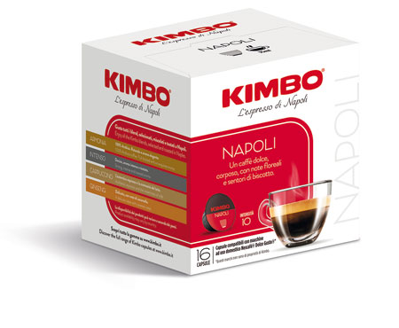 Capsule Kimbo compatibile Dolce Gusto vari tipi x16 112 g