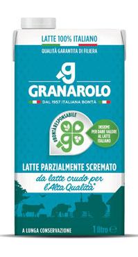 Latte brik italiano parzialmente Granarolo 1 lt
