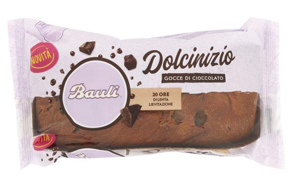 Torta Dolce Inizio Bauli vaniglia/gocce cioccolato 340 g