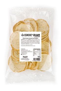 Cerchi di grano Graziano classici/rosmarino 150 g