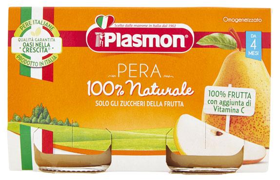 Omogeneizzati frutta Plasmon vari gusti 2 x 104 g