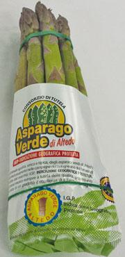 Asparago verde di Altedo IGP  500 g al pz