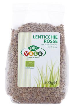 LENTICCHIE ROSSE BIO VALE 500g
