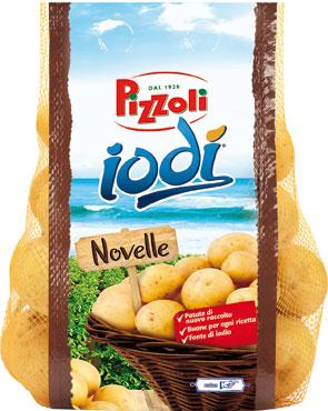 Patate novelle Iodi' Pizzoli  1,25 Kg al kg