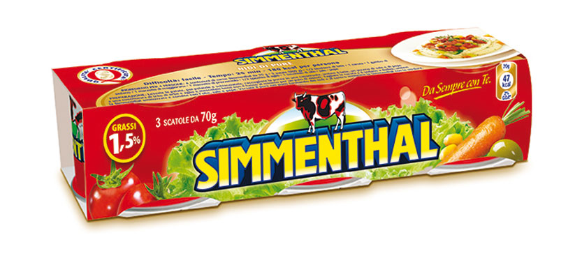 Carne Simmenthal 3 x 70 g