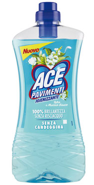 Ace pavimenti igienizzante talco/lavanda 1 l