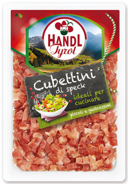 Cubettini di speck Hand Tyrol 80 g