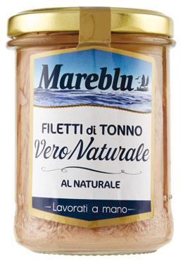 Filetto tonno Mareblu' vari tipi 180 g