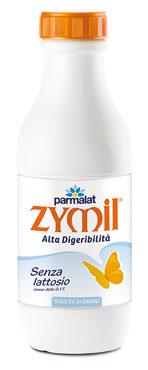 Latte Zymil Parzialmente Scremato bottiglia 1 l