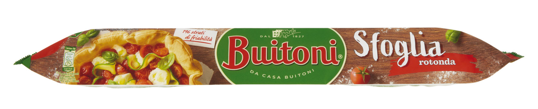 Pasta Sfoglia salata tonda Buitoni 230 g