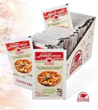 Lievito secco attivo pane/pizza 10 g