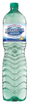 Acqua Rocchetta pet vari tipi 1,5 l