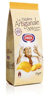 Patatine Artigianali vari tipi Pata 130/150 g