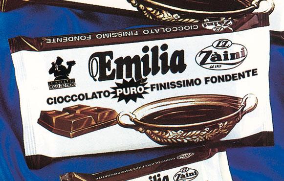 Tavoletta cioccolato fondente Emilia Za'ini 400 g