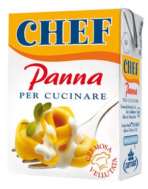 Panna da cucina Chef Parmalat 200 ml