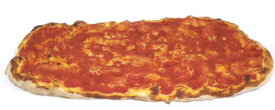 Pizza all'olio/rossa cotta a legna Donatelli