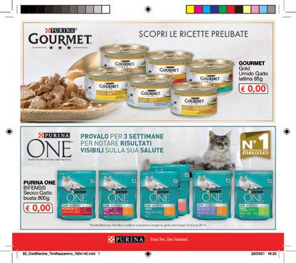 Alimento umido gatto Gourmet Gold vari gusti 85 g