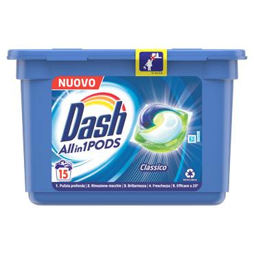 Dash detersivo liquido vari tipi 17+2 lavaggi