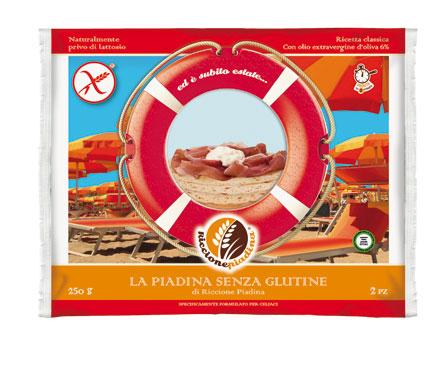 Piadina senza glutine Riccione x 2 250 g