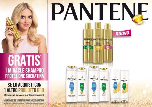 Shampoo Pantene Miracle vari tipi 250 ml