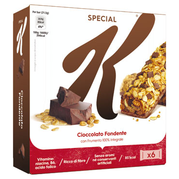 Barret Special K frutti rossi/cioccolato latte/fondente 120/129 g