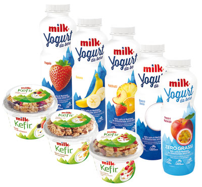 Yogurt da bere vari gusti Milk 500 g