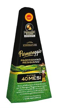 Parmigiano Reggiano Dop 40 mesi Parmareggio 200 g