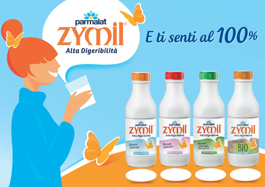 Latte Zymil vari tipi 1 l